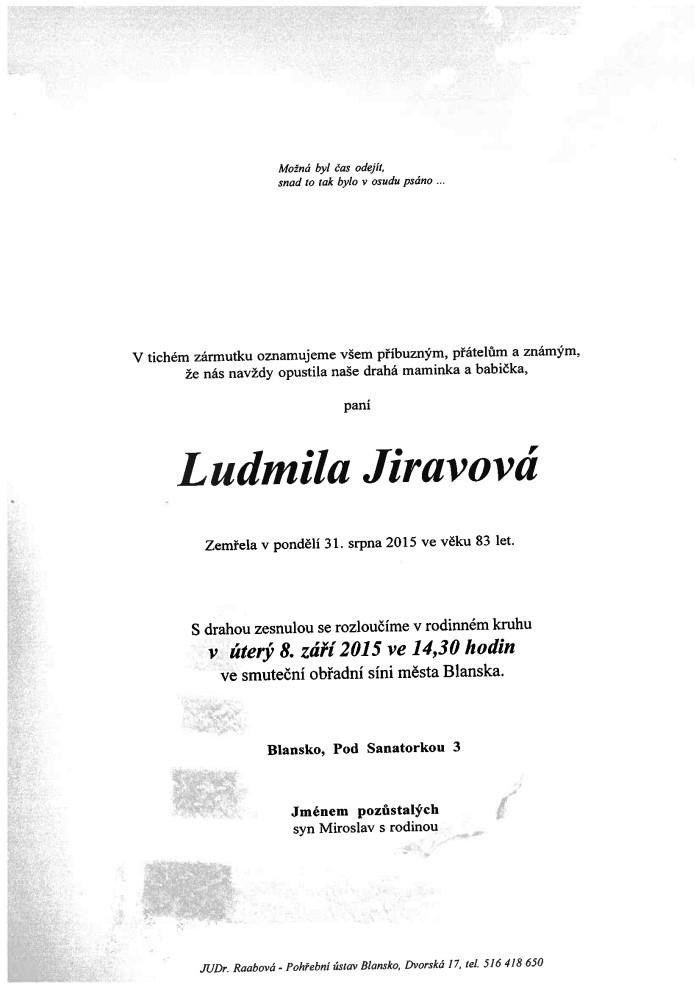 Ludmila Jiravová