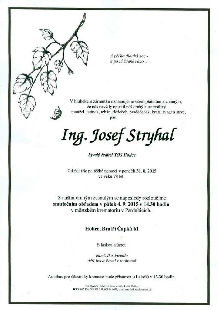 Ing. Josef Stryhal