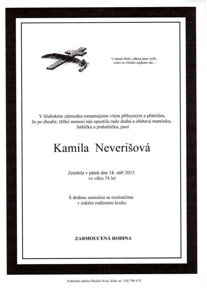 Kamila Neverišová
