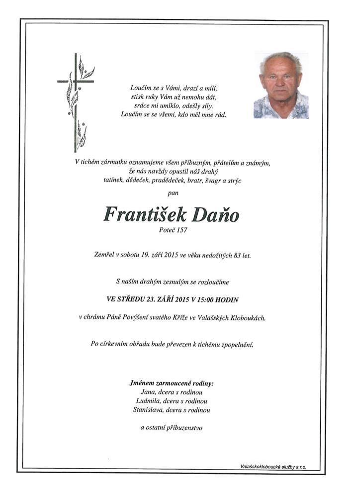 František Daňo