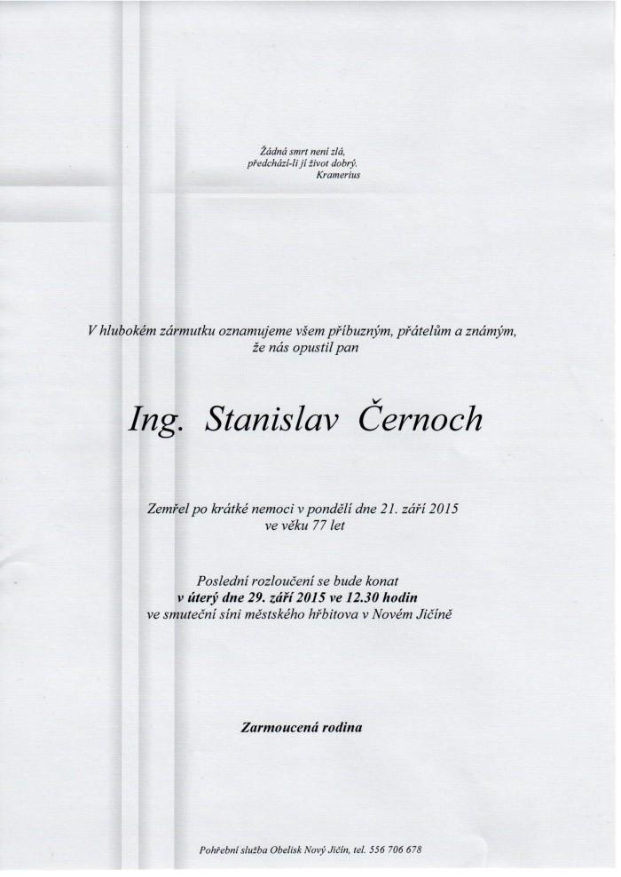 Ing. Stanislav Černoch