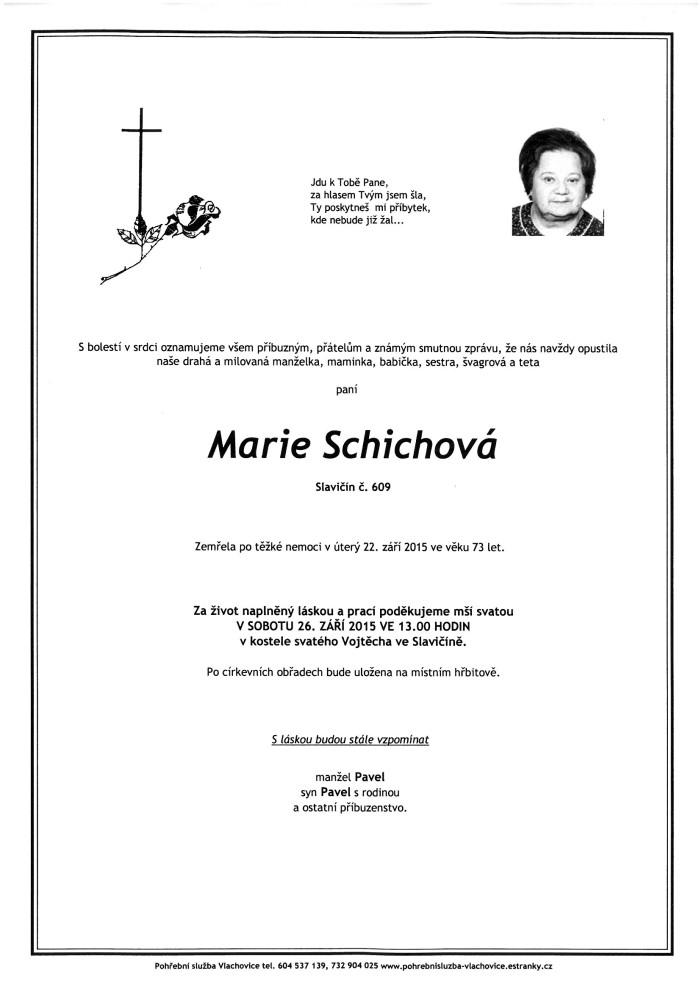 Marie Schichová