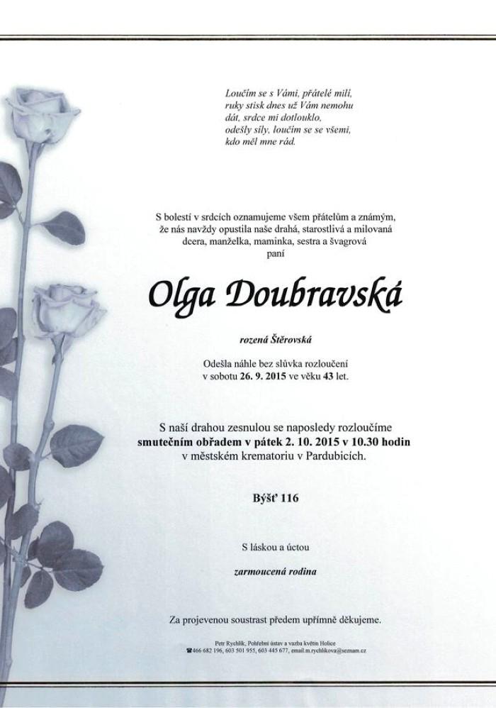 Olga Doubravská
