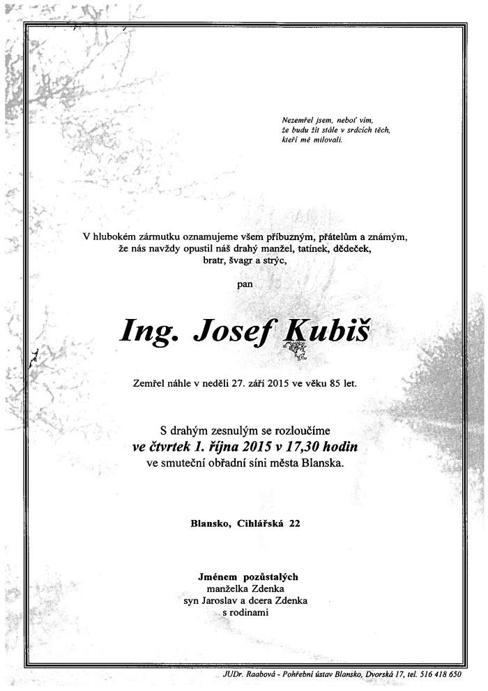 Ing. Josef Kubiš