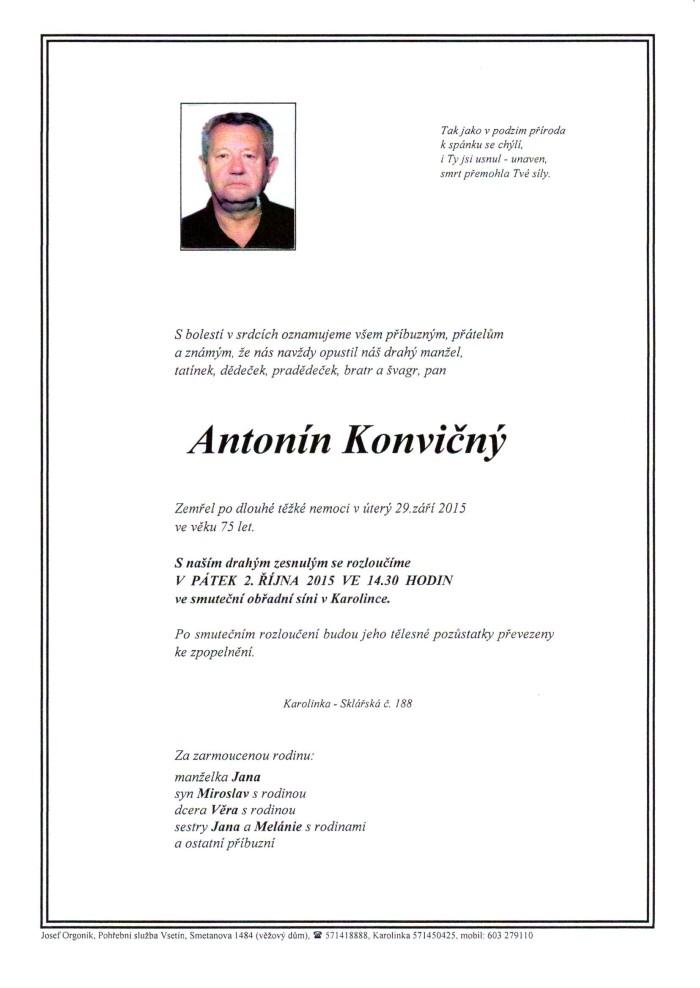 Antonín Konvičný
