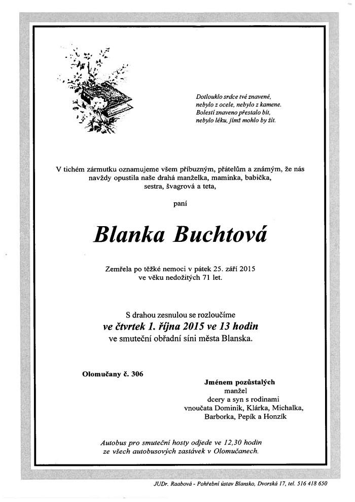 Blanka Buchtová