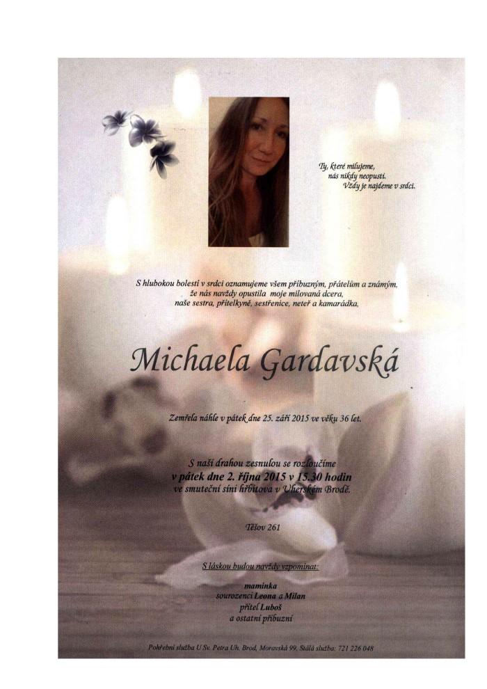 Michaela Gardavská