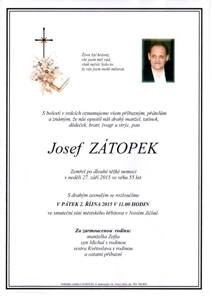 Josef Zátopek