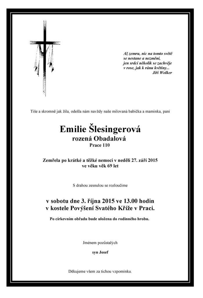 Emilie Šlesingerová