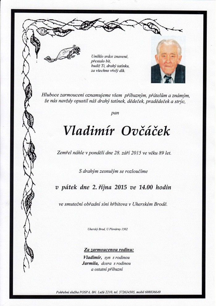 Vladimír Ovčáček