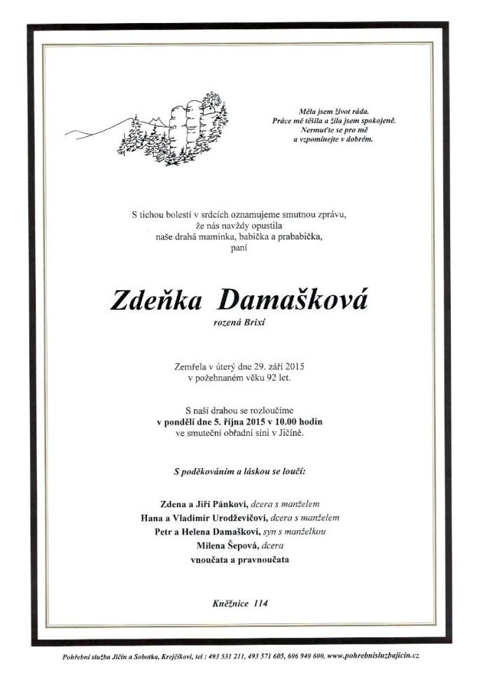 Zdeňka Damašková