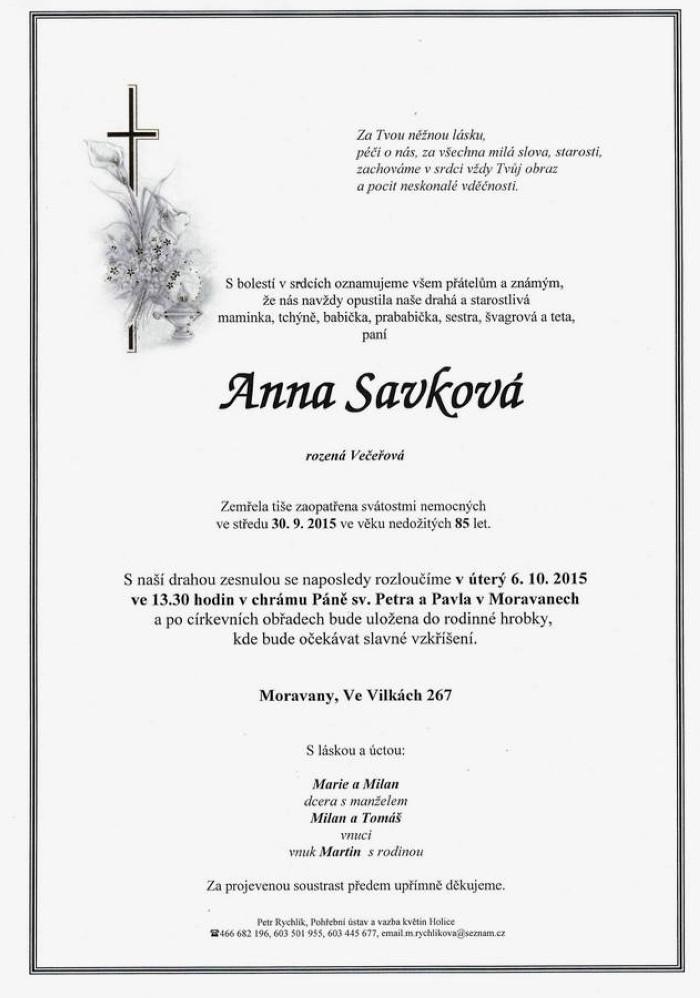 Anna Savková