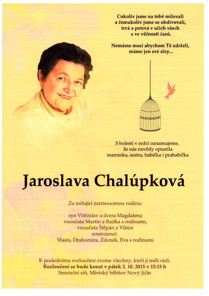 Jaroslava Chalúpková