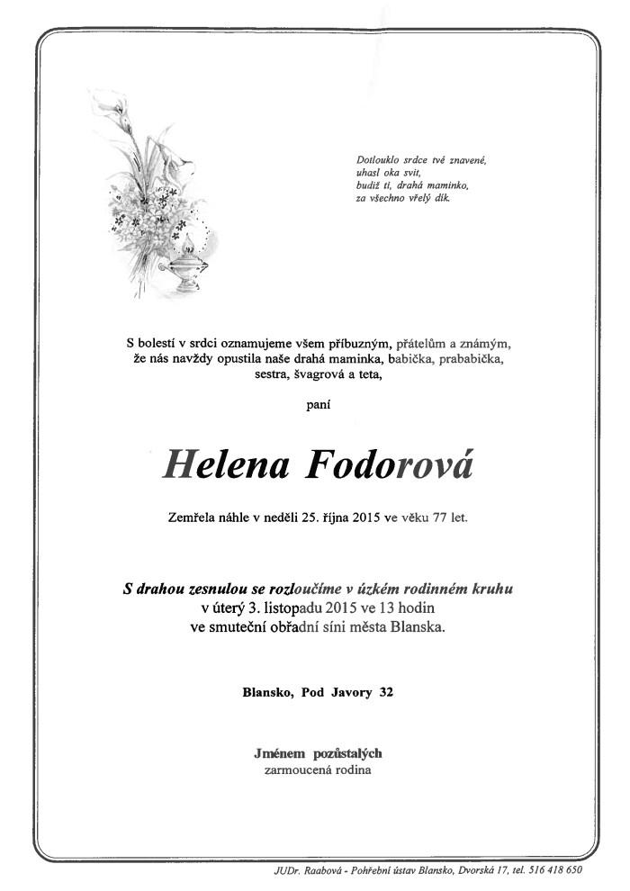 Helena Fodorová