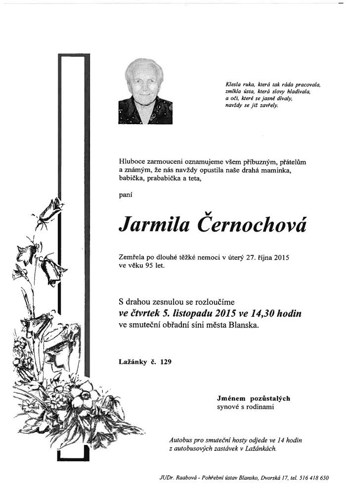 Jarmila Černochová