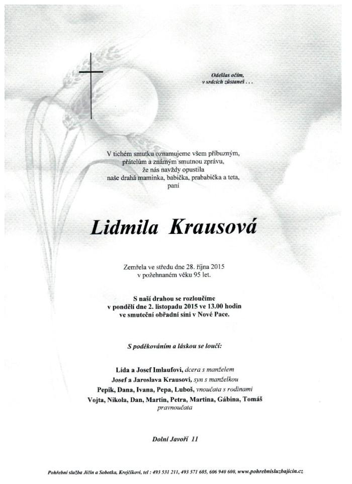 Lidmila Krausová