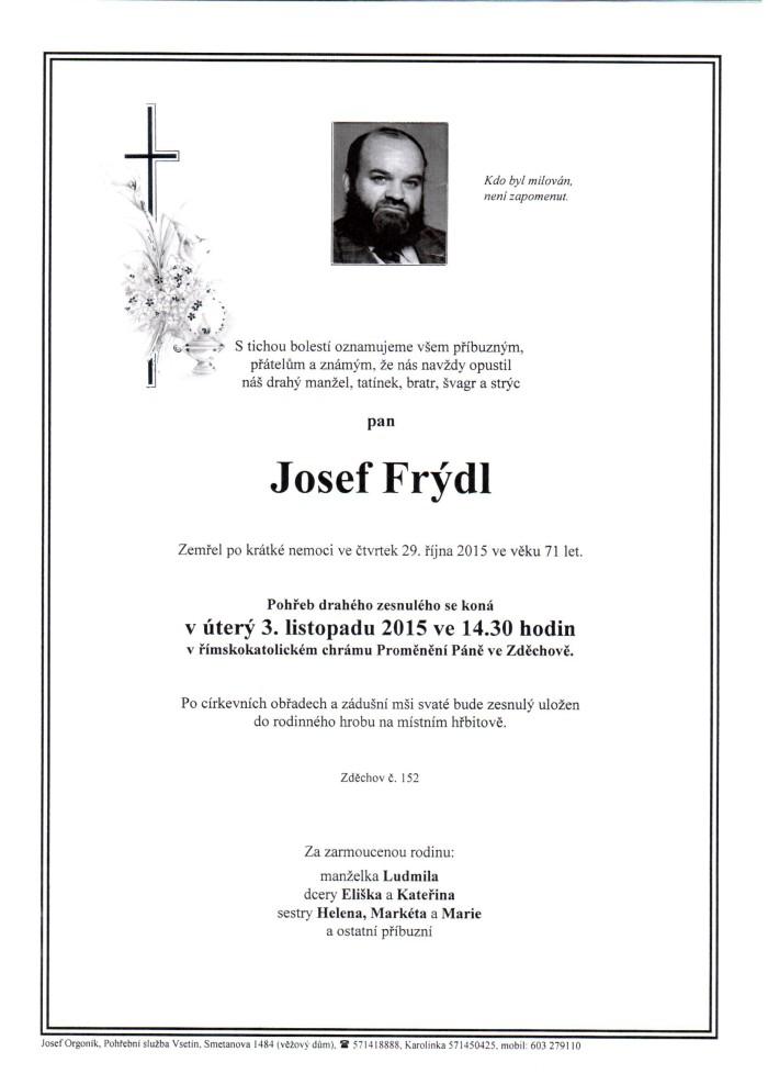 Josef Frýdl