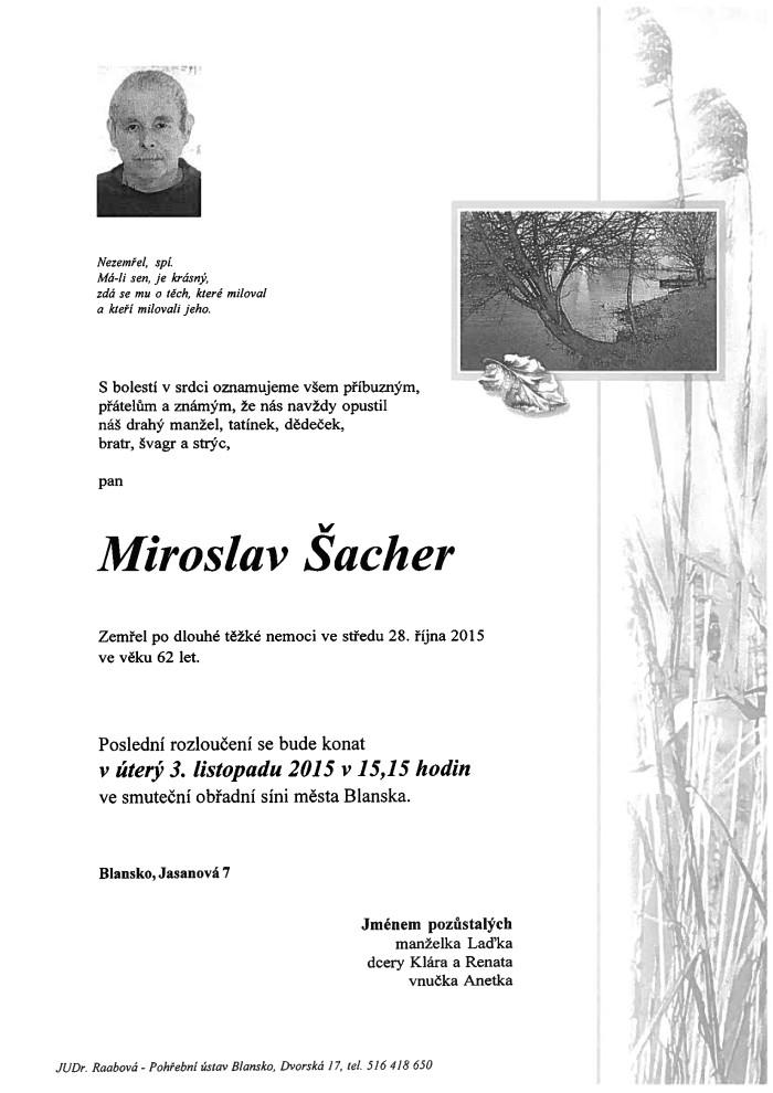Miroslav Šacher
