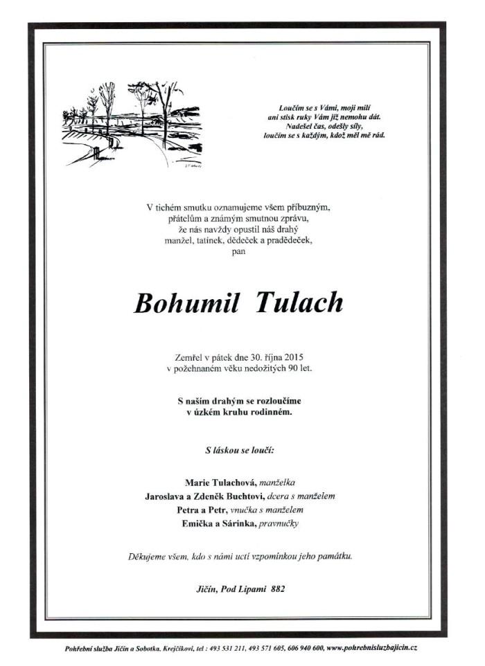Bohumil Tulach