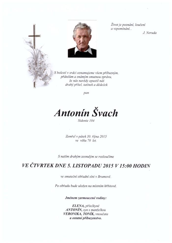 Antonín Švach