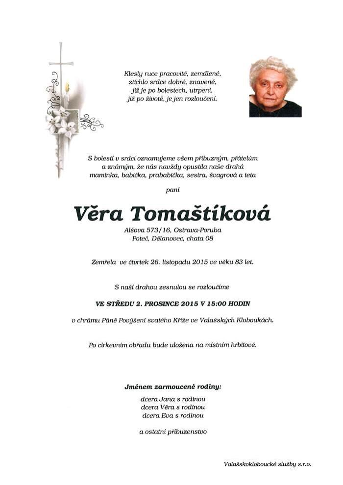 Věra Tomaštíková