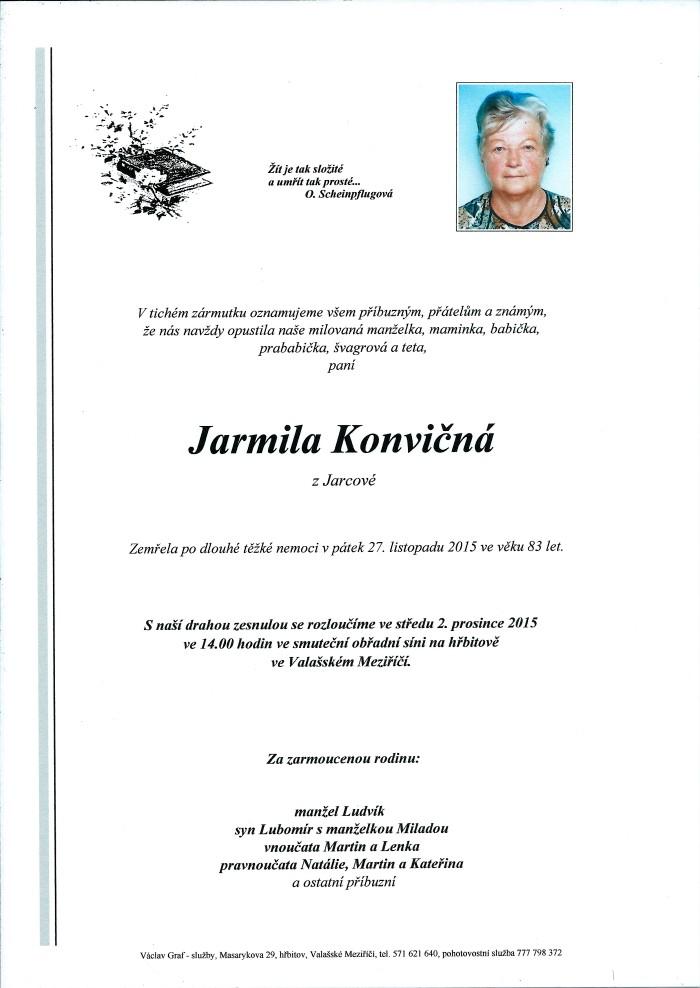 Jarmila Konvičná