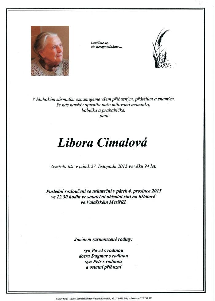 Libora Cimalová