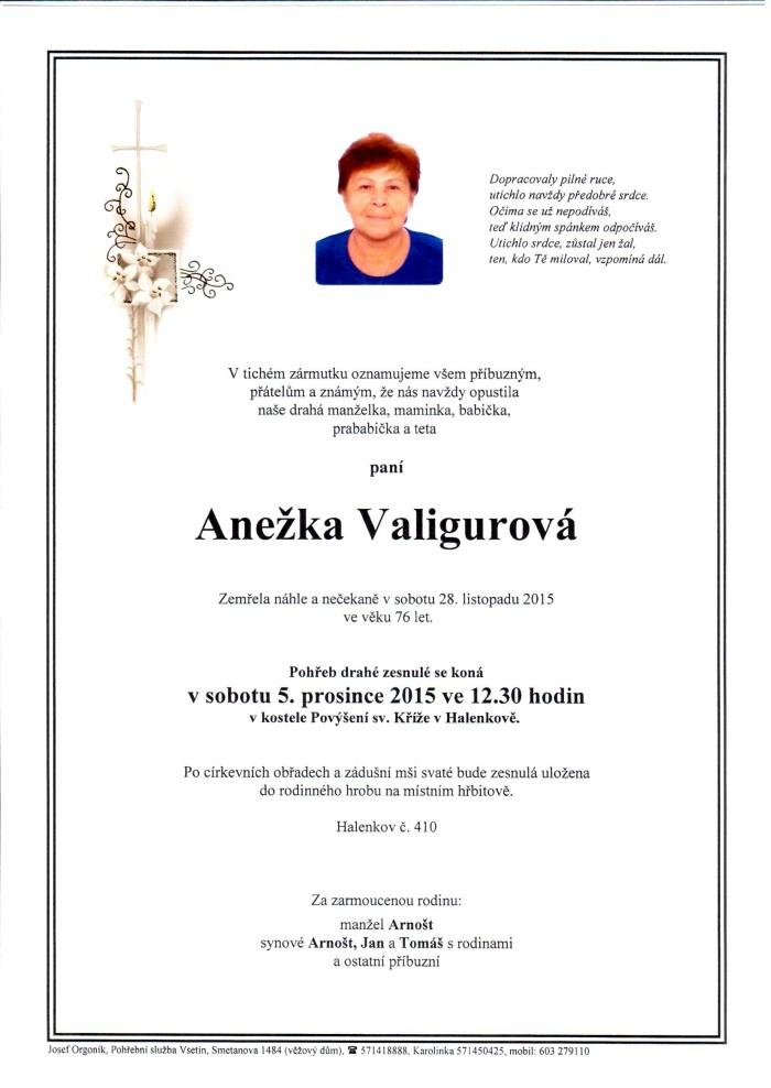 Anežka Valigurová