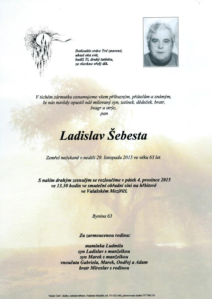 Ladislav Šebesta