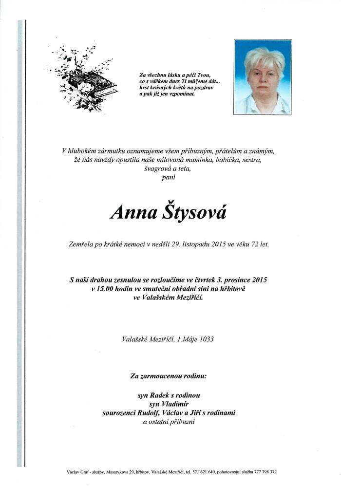 Anna Štysová