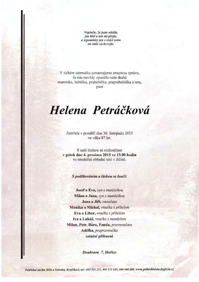 Helena Petráčková