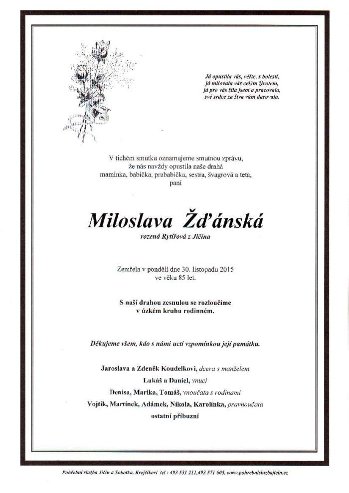 Miloslava Žďánská