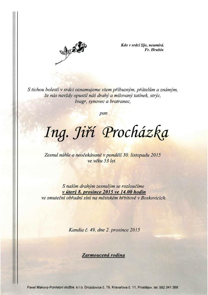 Ing. Jiří Procházka