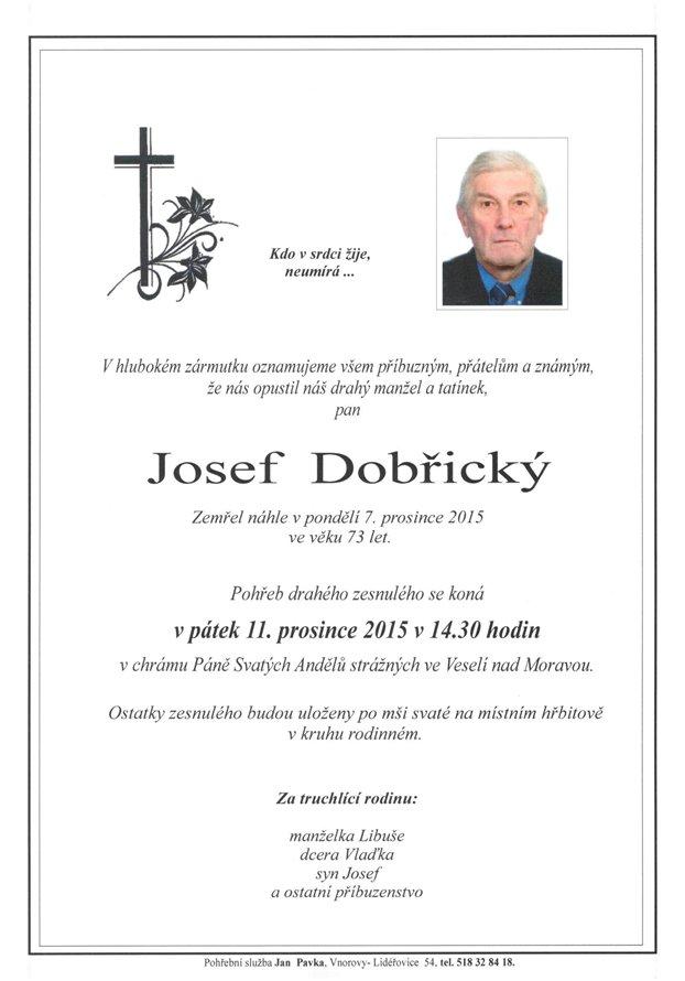 Josef Dobřický