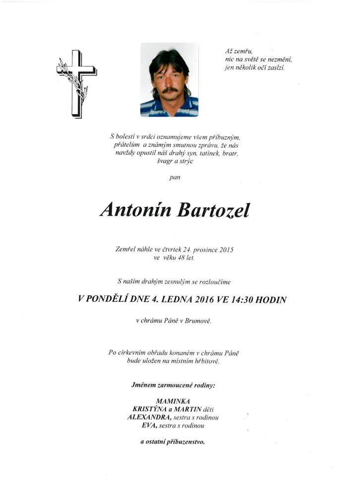 Antonín Bartozel