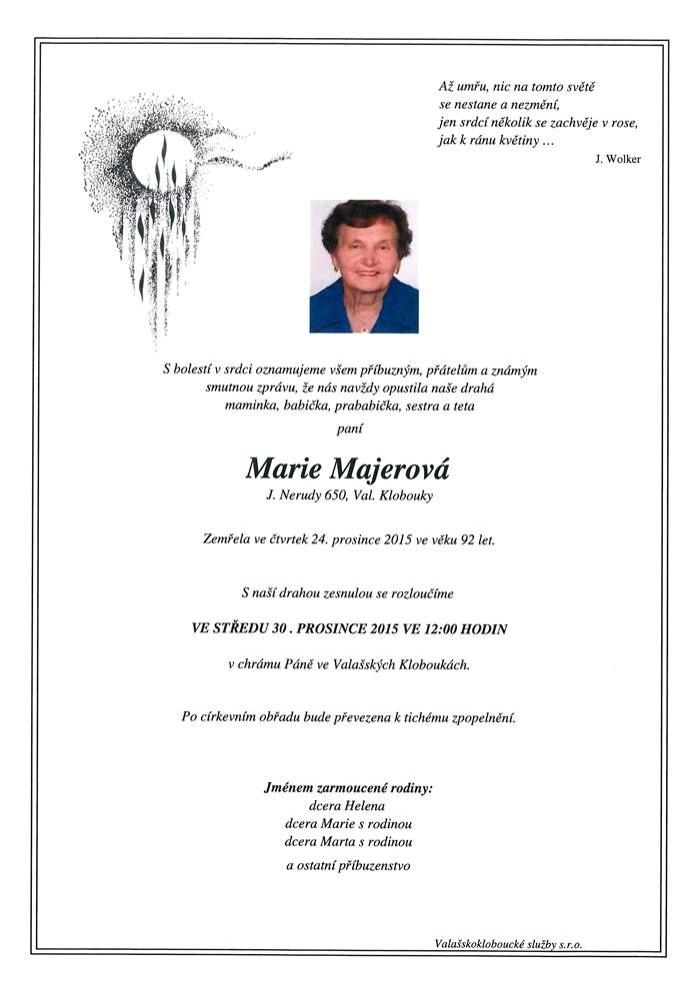 Marie Majerová