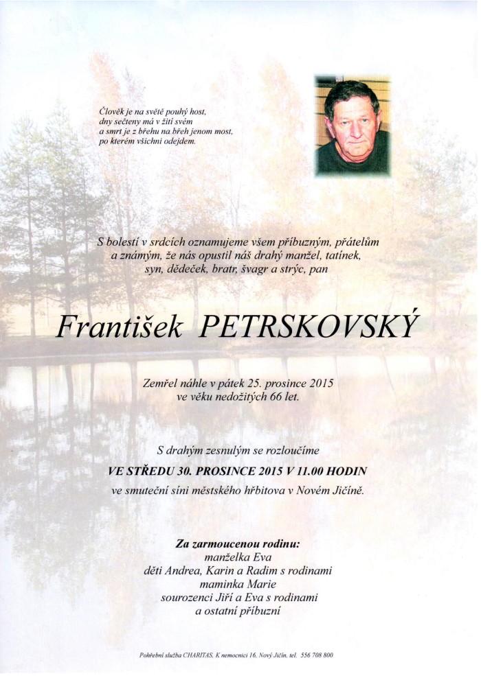 František Petrskovský