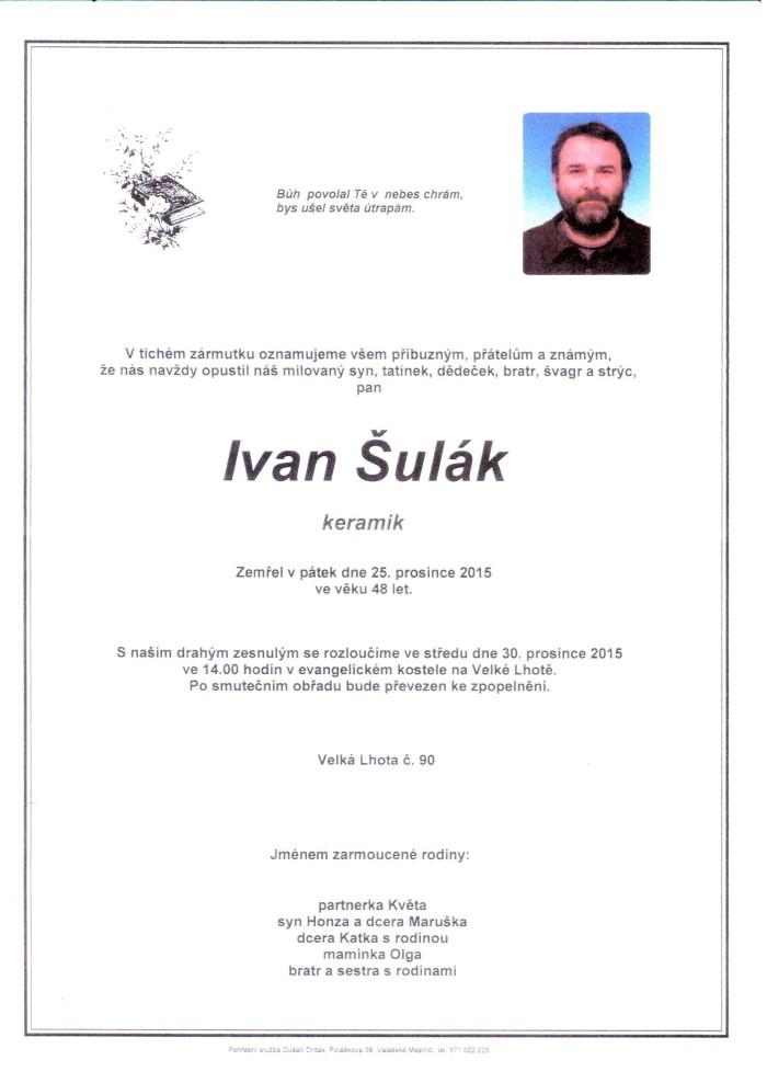Ivan Šulák