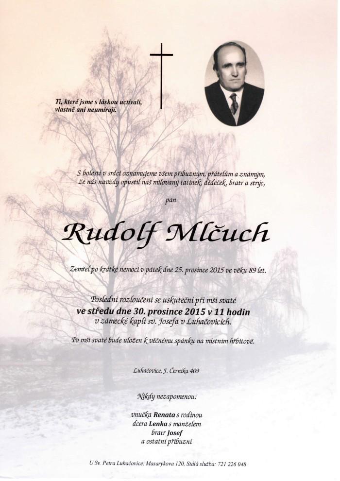 Rudolf Mlčuch