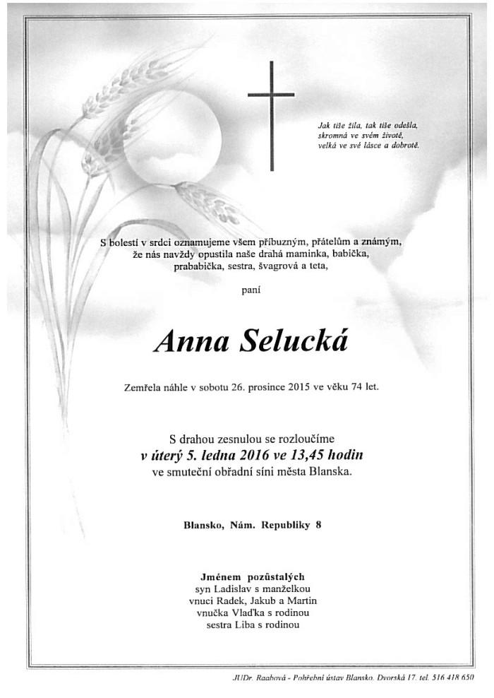 Anna Selucká