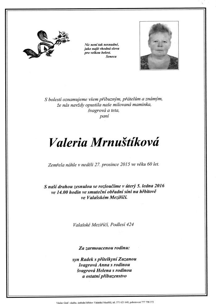 Valeria Mrnuštíková