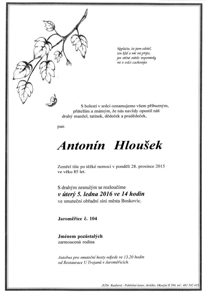 Antonín Hloušek