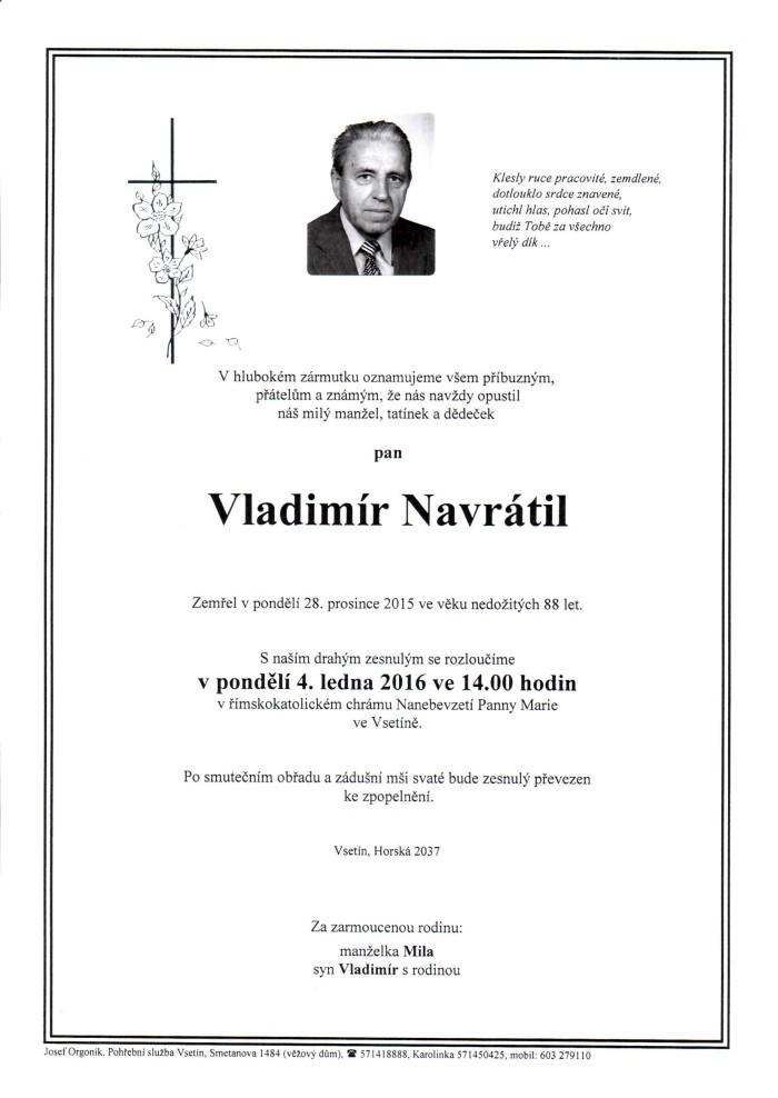 Vladimír Navrátil