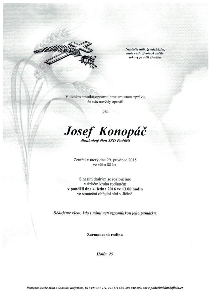 Josef Konopáč