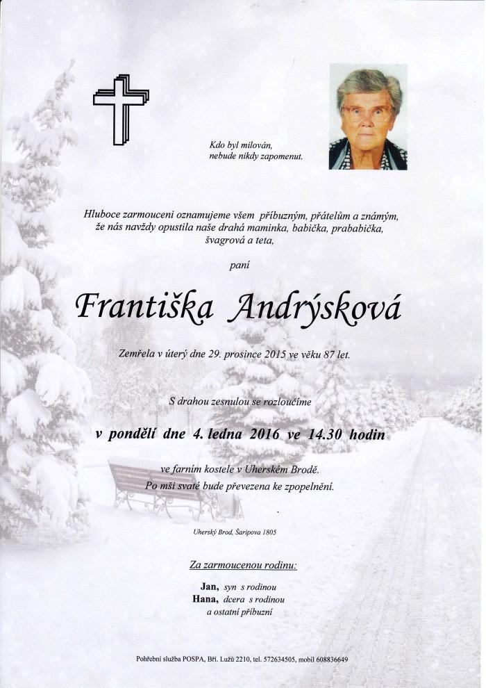 Františka Andrýsková