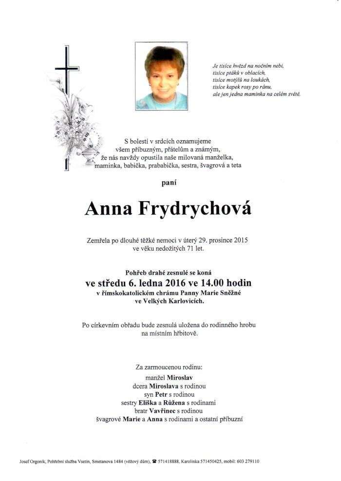 Anna Frydrychová