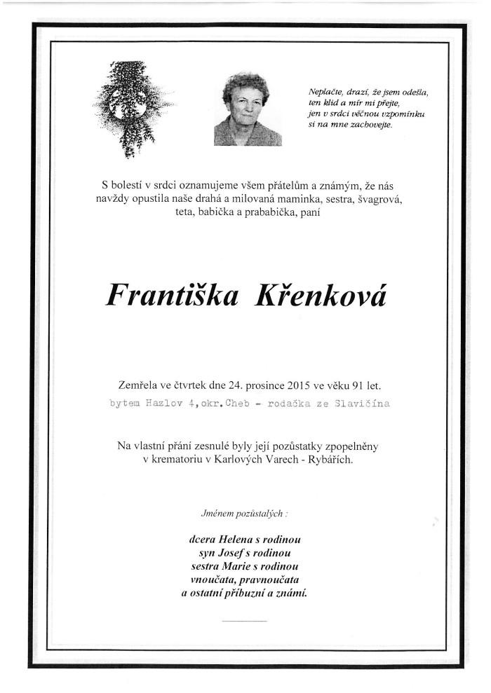 Františka Křenková