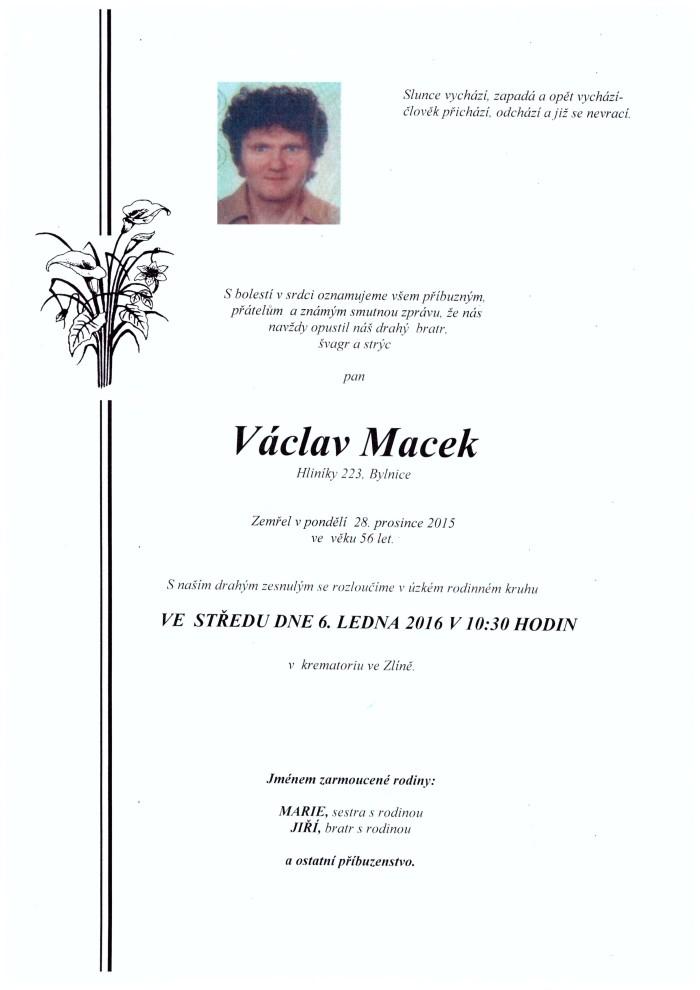 Václav Macek