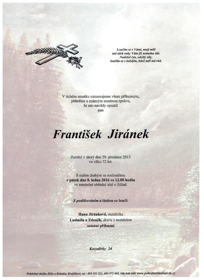 František Jiránek