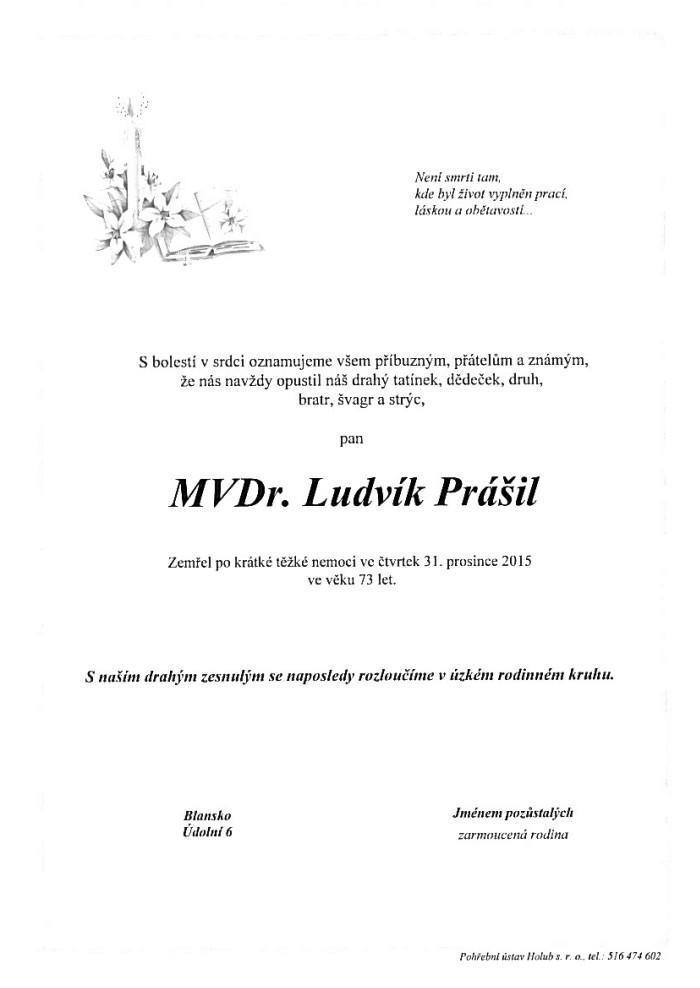 MVDr. Ludvík Prášil